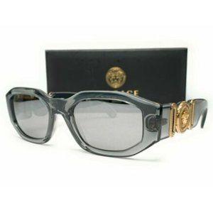 Versace Men's Transparent Grey Sunglasses!